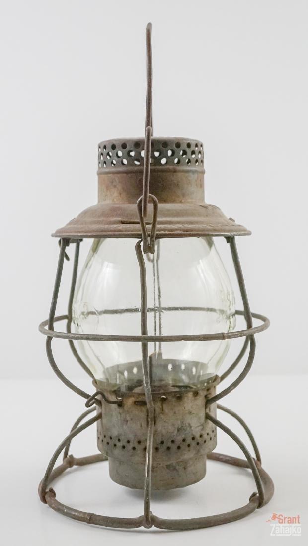 Great Northern Railway Lantern, Marked Globe - 2