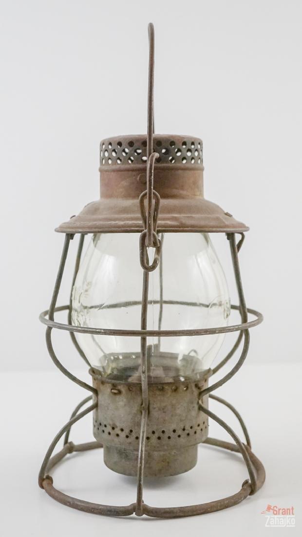 Great Northern Railway Lantern, Marked Globe - 4