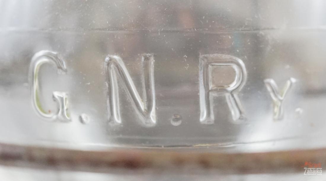 Great Northern Railway Lantern, Marked Globe - 6