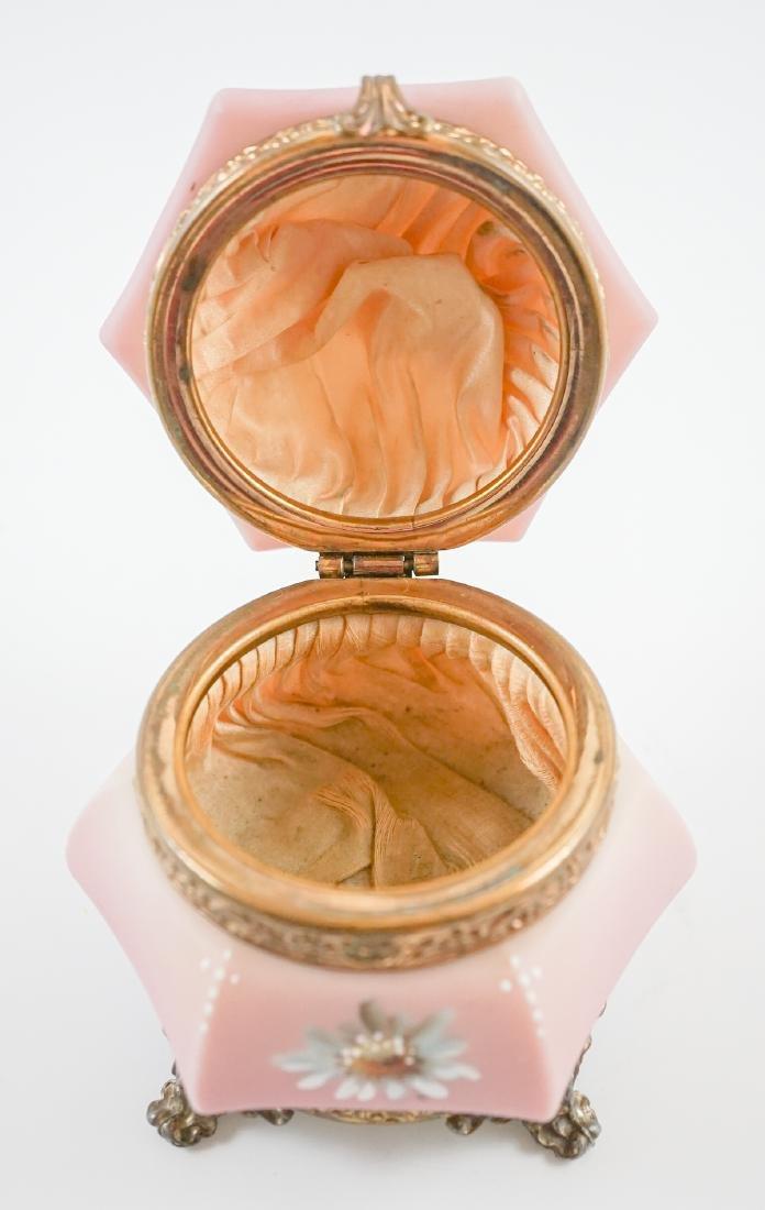 Nakara C.F. Monroe Satin Glass Trinket Box - 5