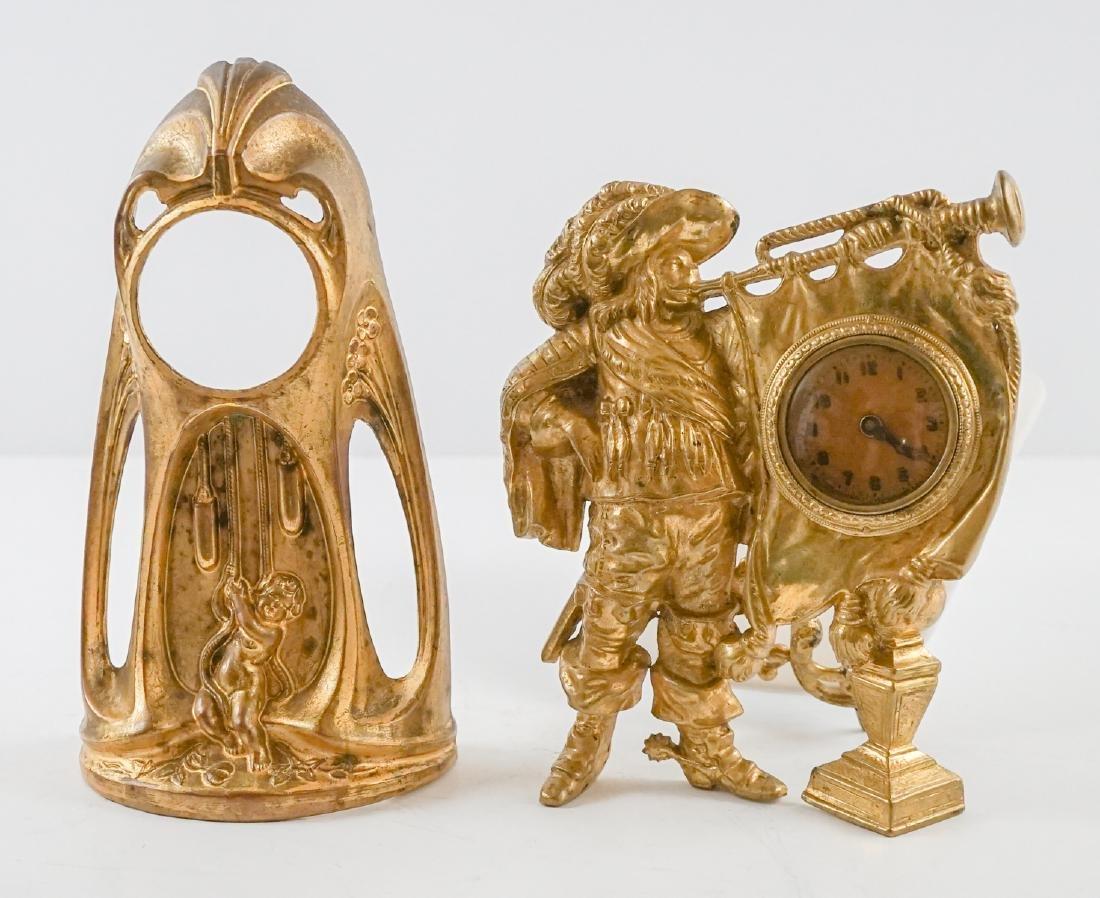Figural Clock and Clock Body