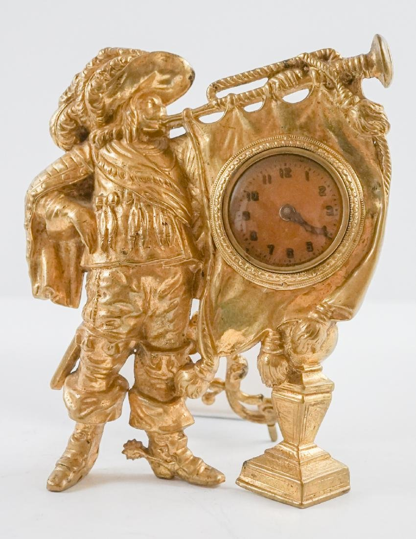 Figural Clock and Clock Body - 2