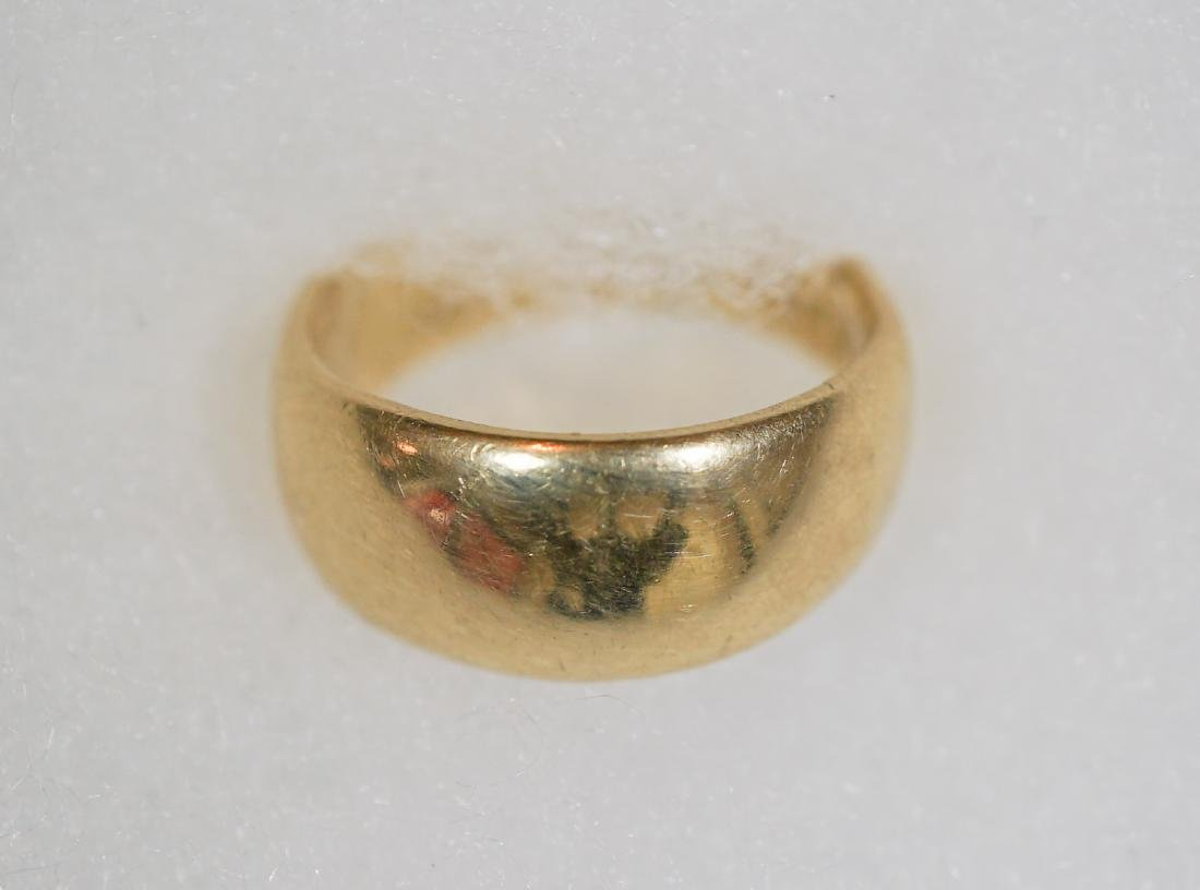 Two 14k Gold Bands Weighing 9.0 Grams - 3