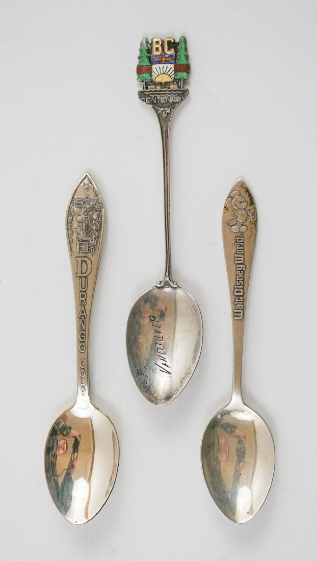 Group of Sterling Souvenir Spoons, 10.85 ozt - 2