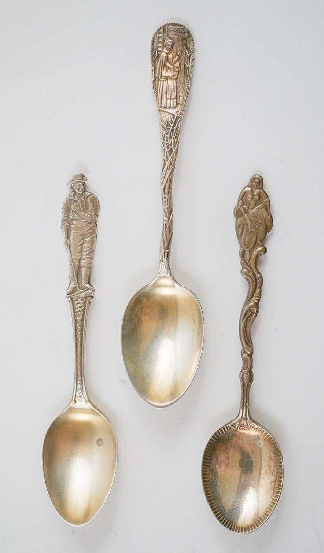 Group of Sterling Souvenir Spoons, 10.85 ozt - 3