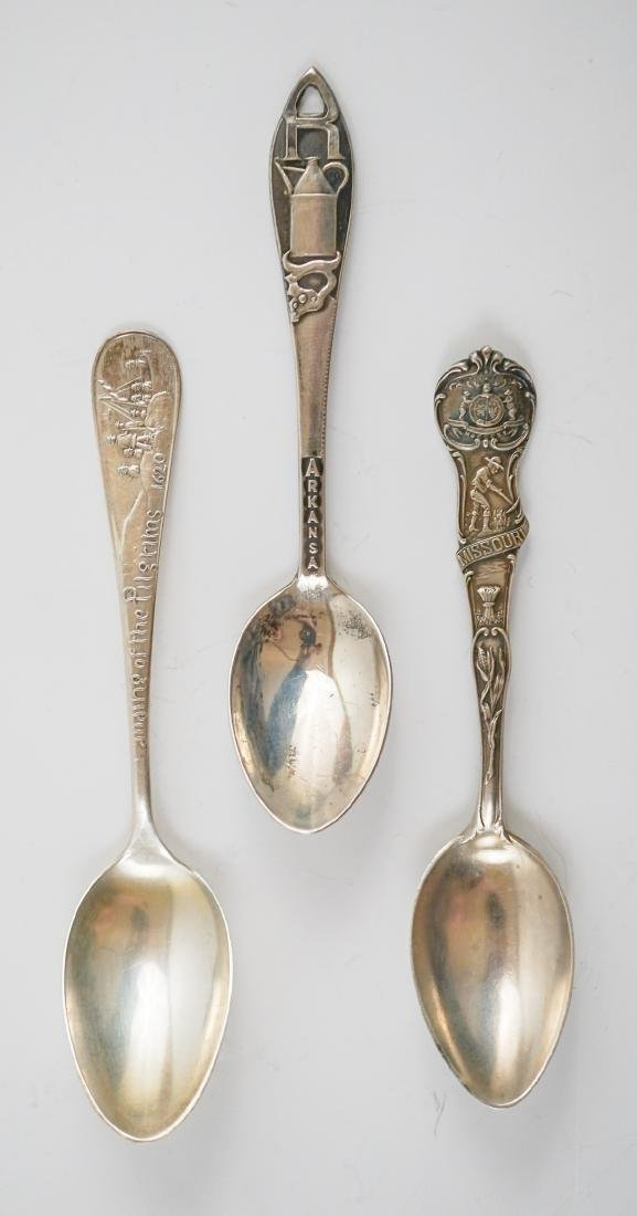 Group of Sterling Souvenir Spoons, 10.85 ozt - 4
