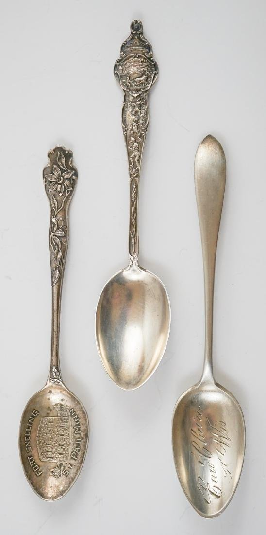 Group of Sterling Souvenir Spoons, 10.85 ozt - 7