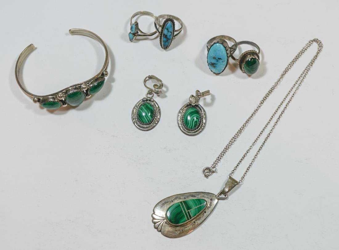Estate Lot-Signed Southwest Sterling Jewelry