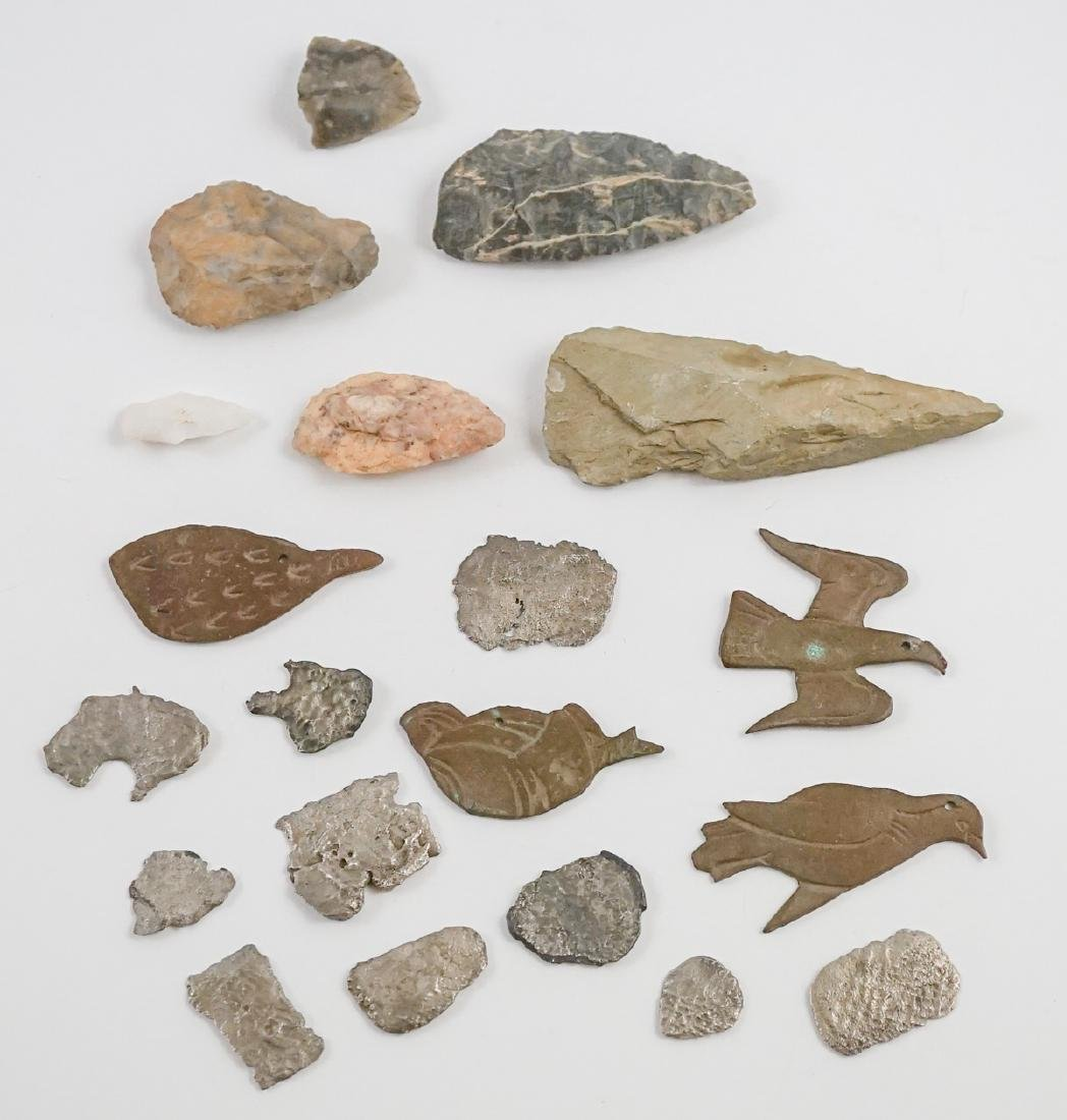 Silver Coin Fragments, Artifacts and More