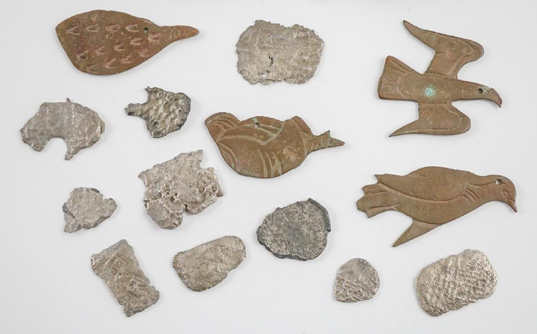 Silver Coin Fragments, Artifacts and More - 2