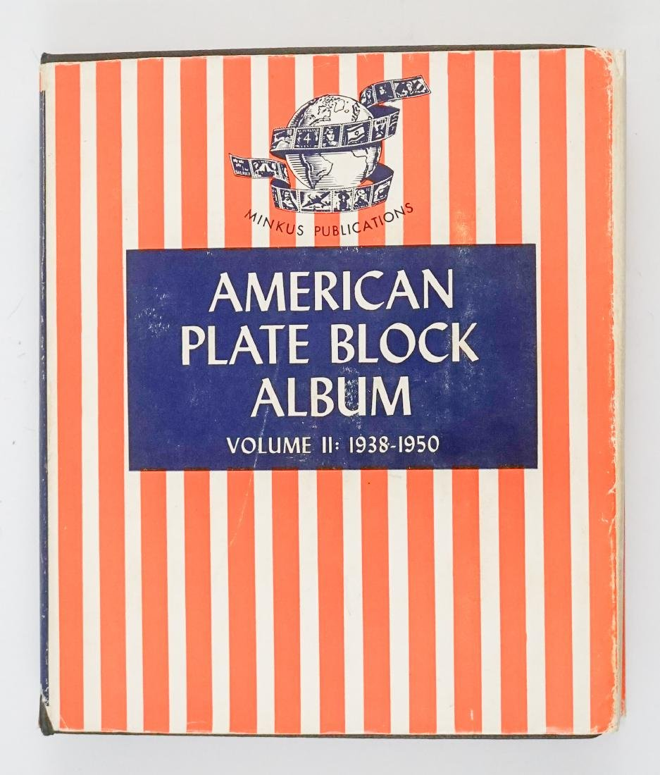 American Plate Block Collection 1938-1950 (248)