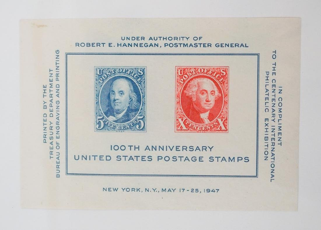 American Plate Block Collection 1938-1950 (248) - 2