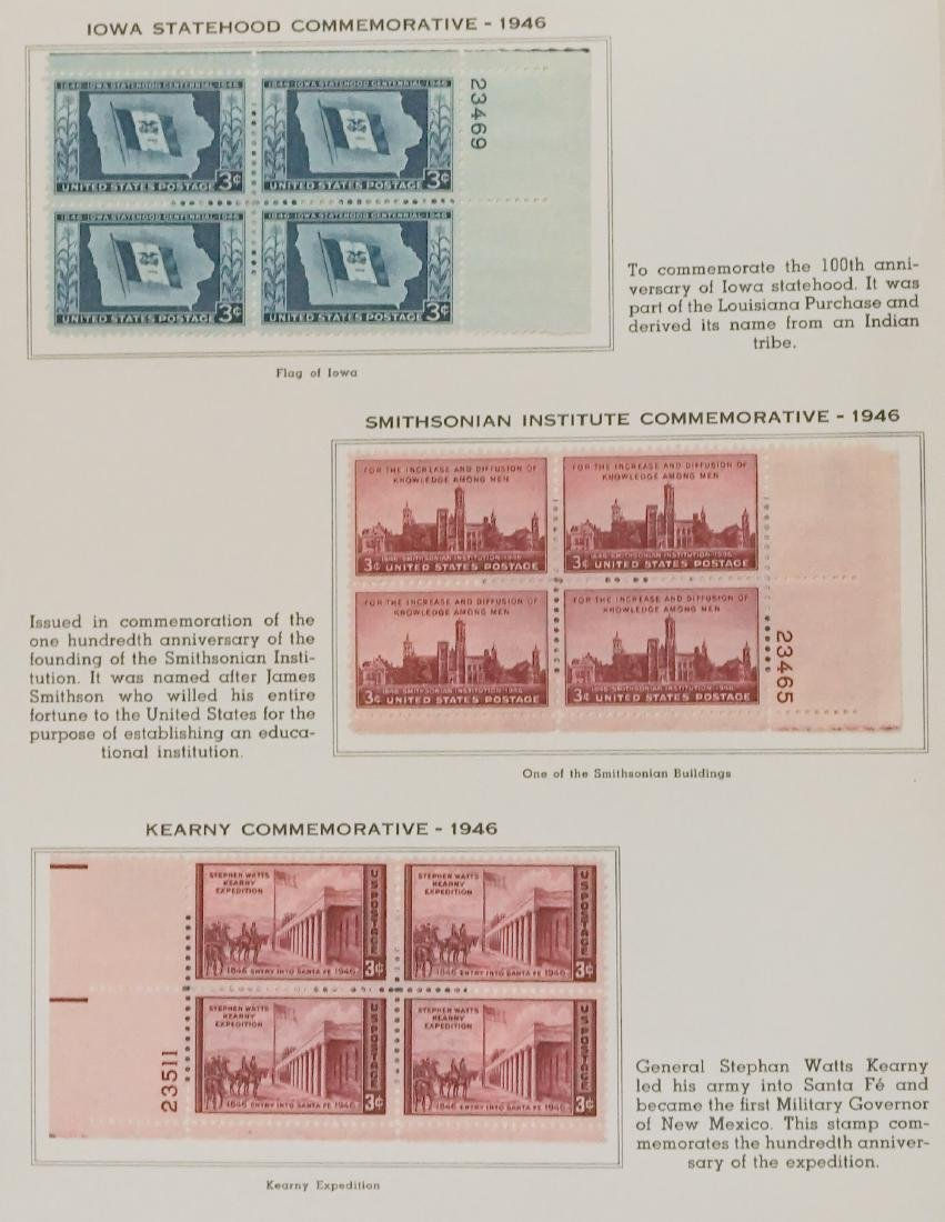 American Plate Block Collection 1938-1950 (248) - 5