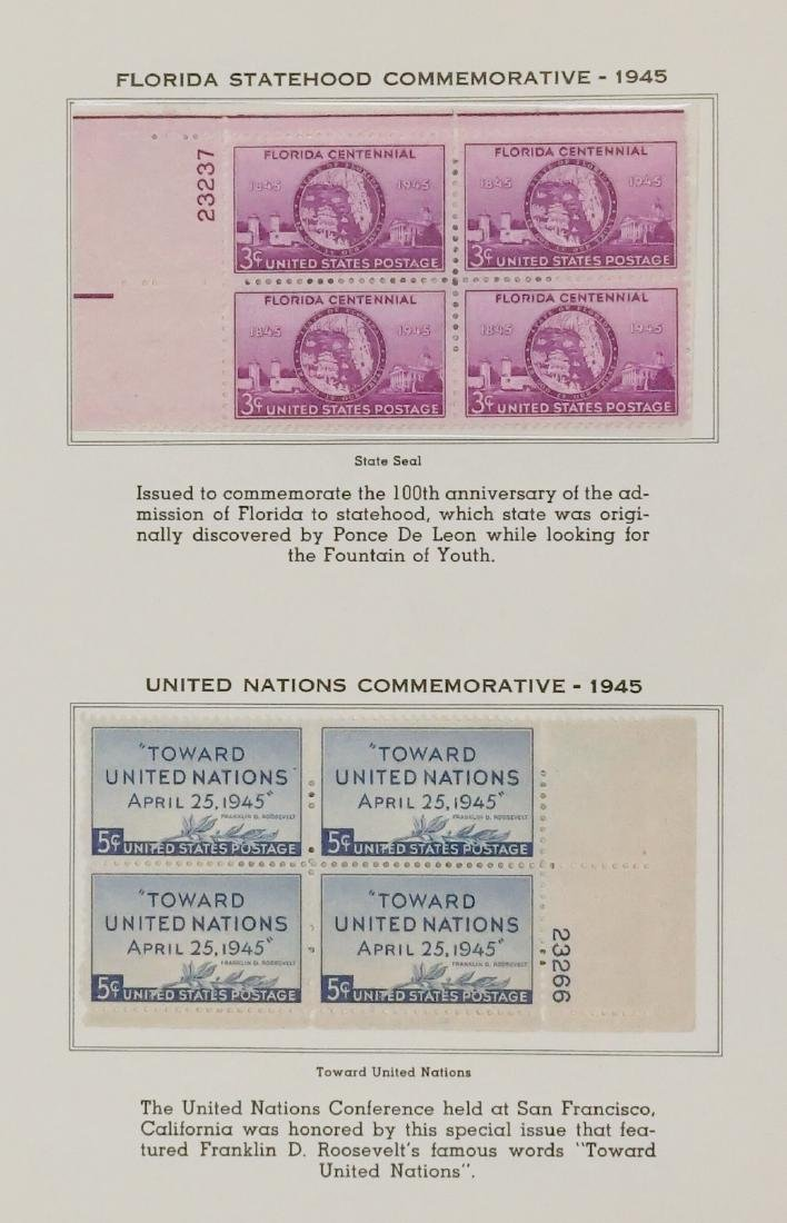 American Plate Block Collection 1938-1950 (248) - 7