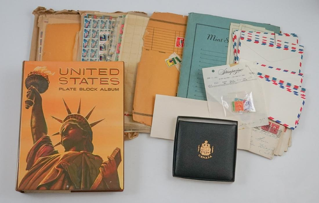 U.S. Plate Blocks, Sheets and Assorted Covers