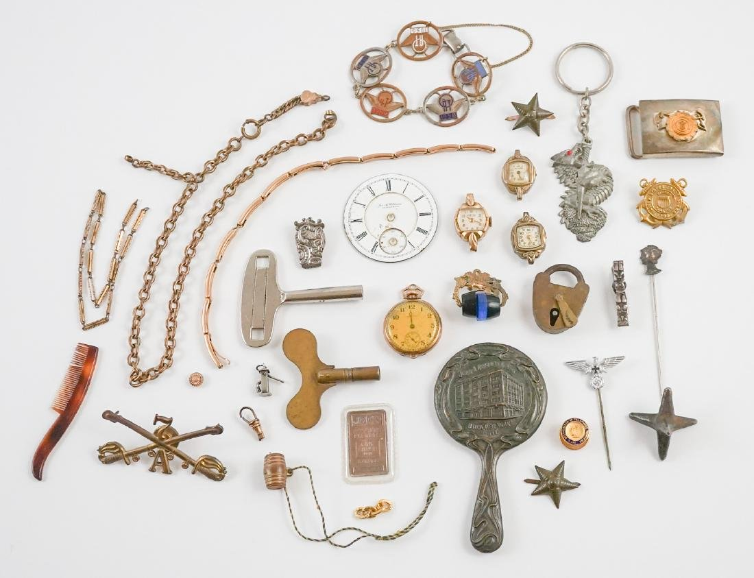 Estate Lot: Insignia, Pins, Medals and More
