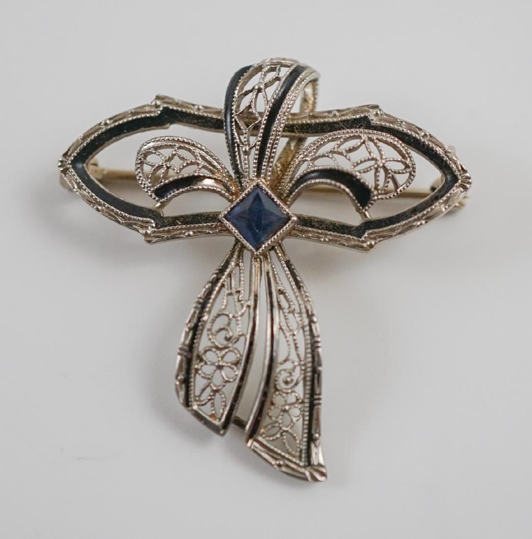 Estate Jewelry of Art Deco Jewelry - 6