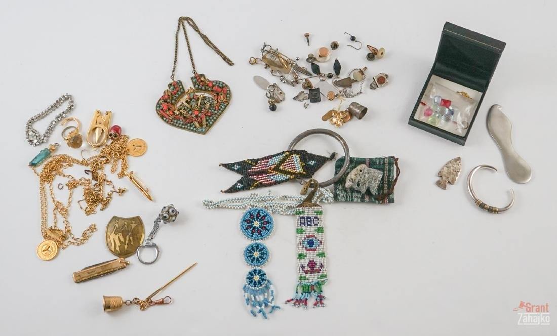 Group of Ethnic and Costume Jewelry