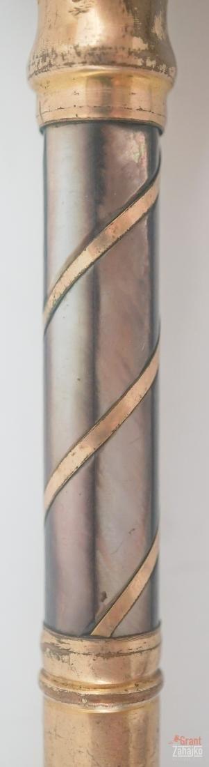 Antique Gold Plated Umbrella Part - 6