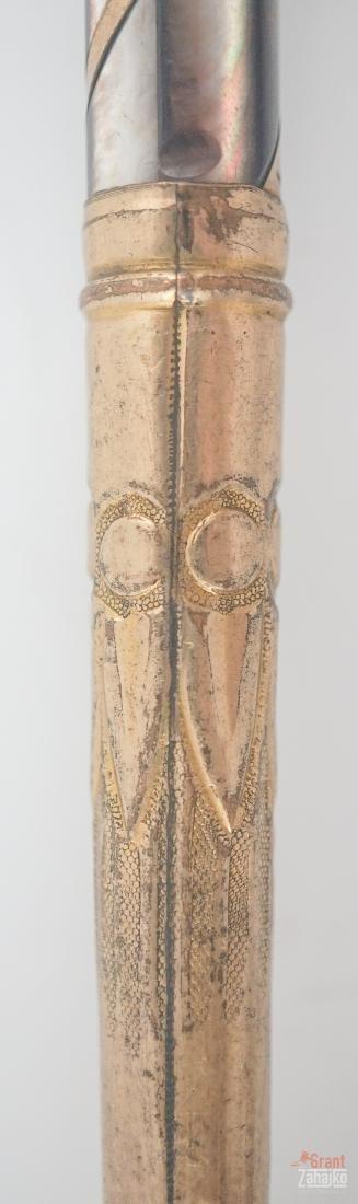 Antique Gold Plated Umbrella Part - 8