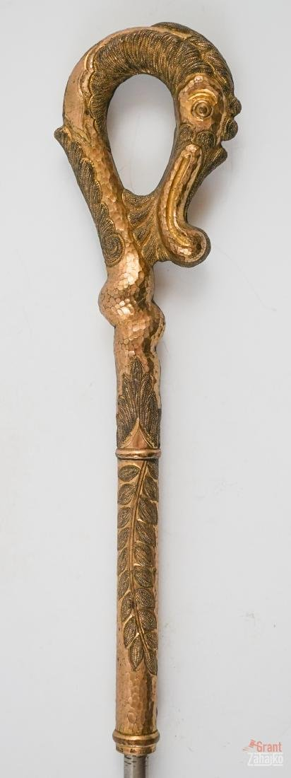 Antique Figural Handle Walking Stick