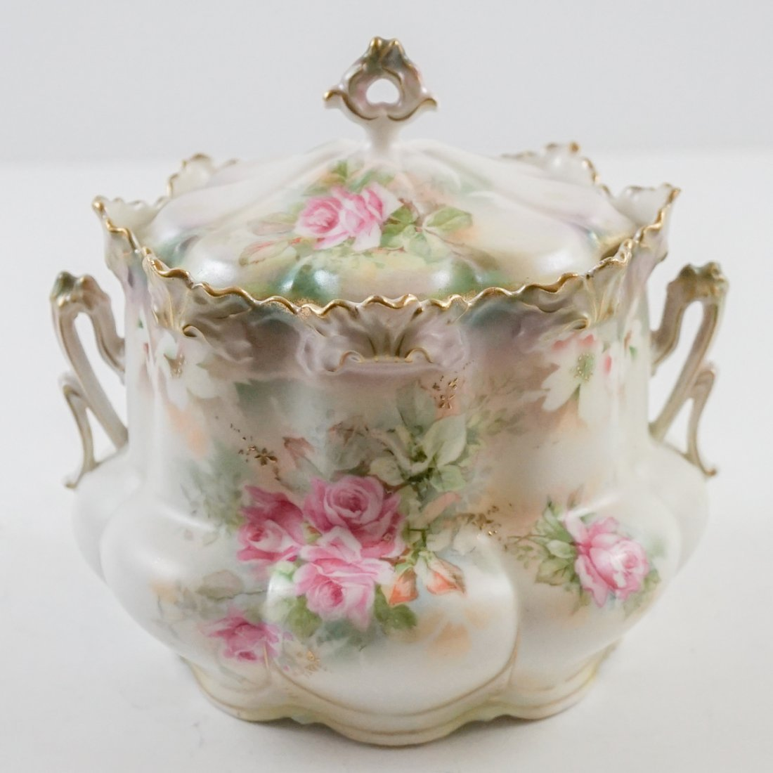 R.S. Prussia Biscuit Jar