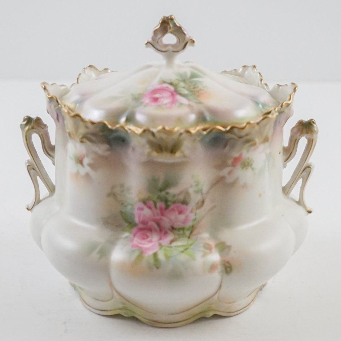 R.S. Prussia Biscuit Jar - 3