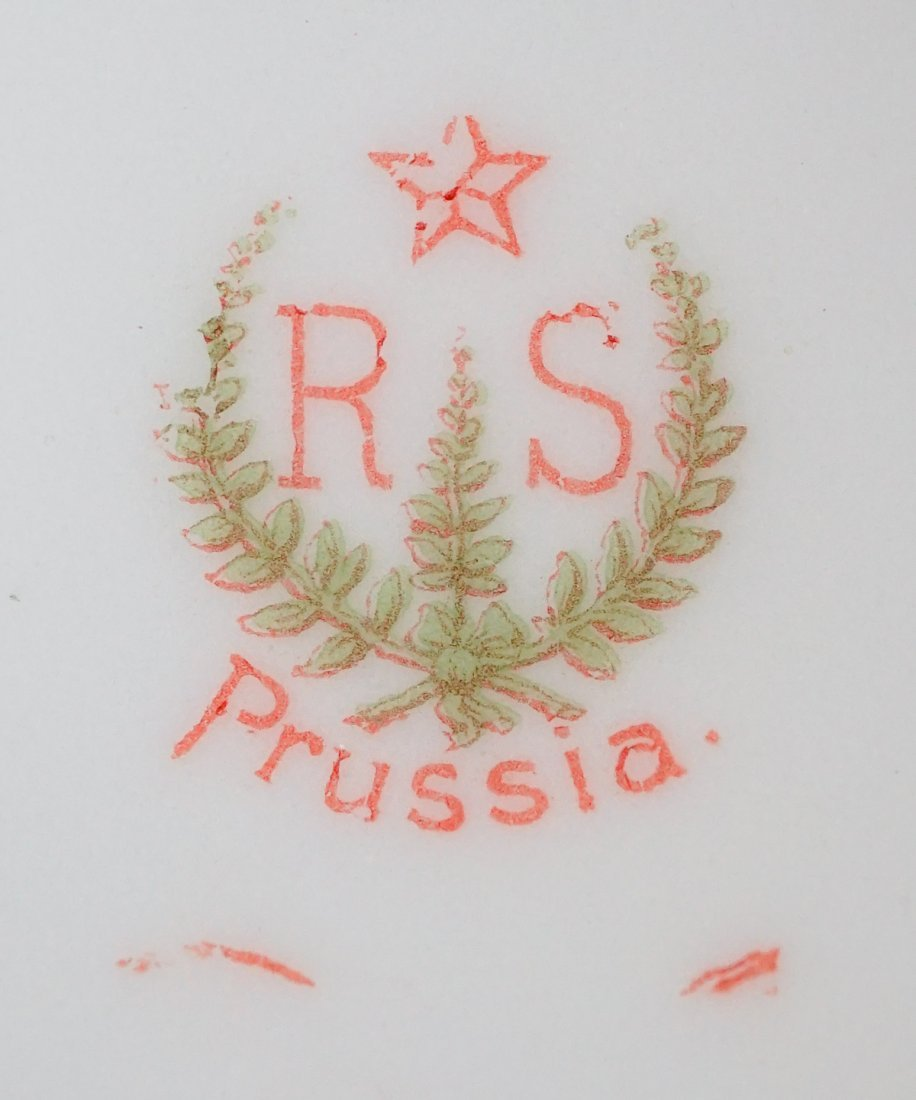 R.S. Prussia Biscuit Jar - 8