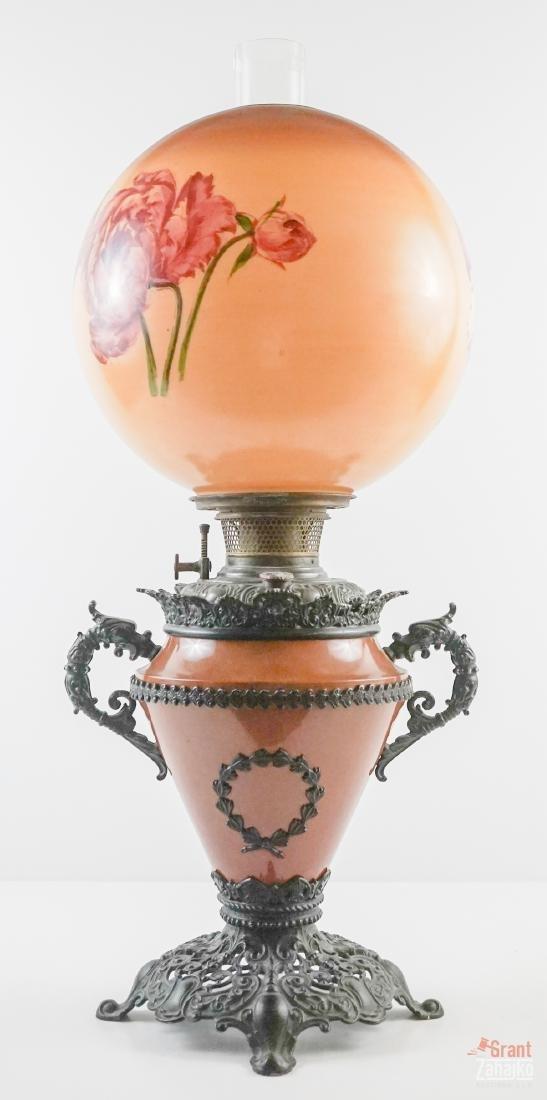Victorian Oil Lamp - 8