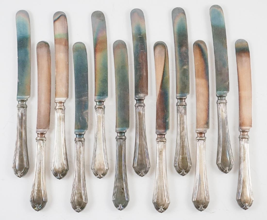 [12] International Silver Sterling Handled Knives