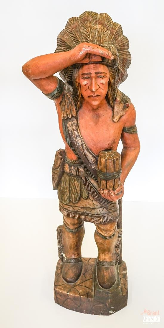 Cigar Store Wooden Indian