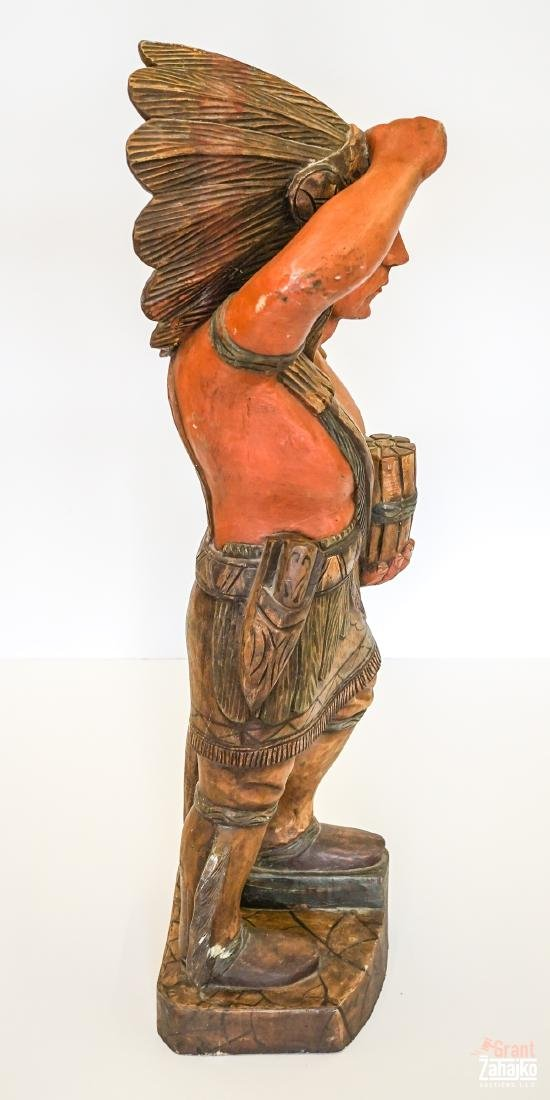 Cigar Store Wooden Indian - 2