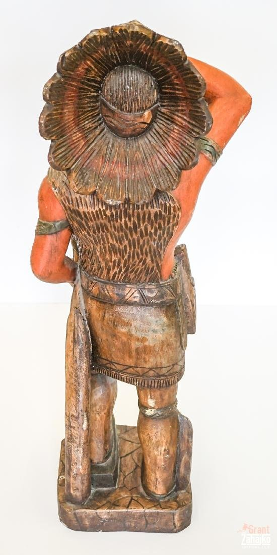 Cigar Store Wooden Indian - 3