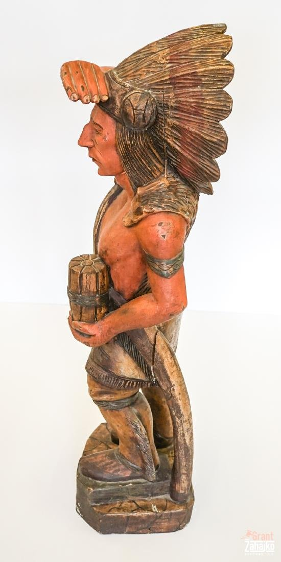 Cigar Store Wooden Indian - 4