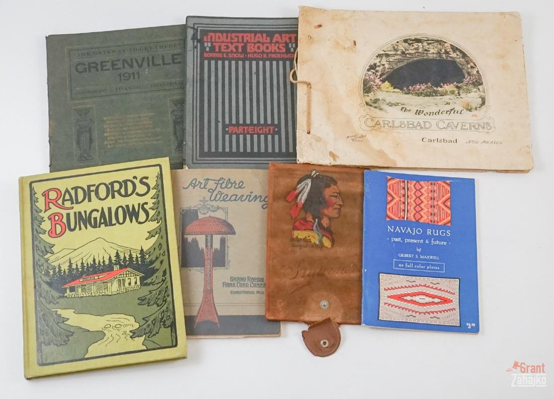 Arts & Crafts Era Housing and Crafts Books