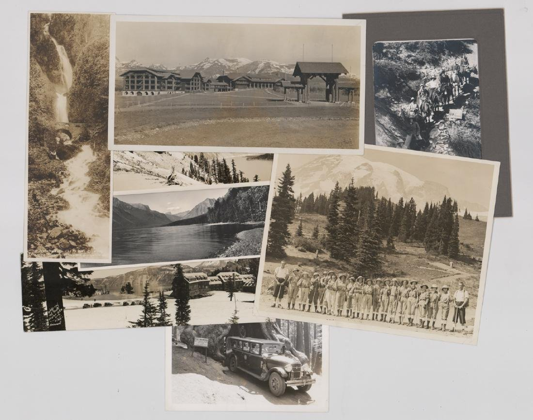Eight Antique National Parks Photos