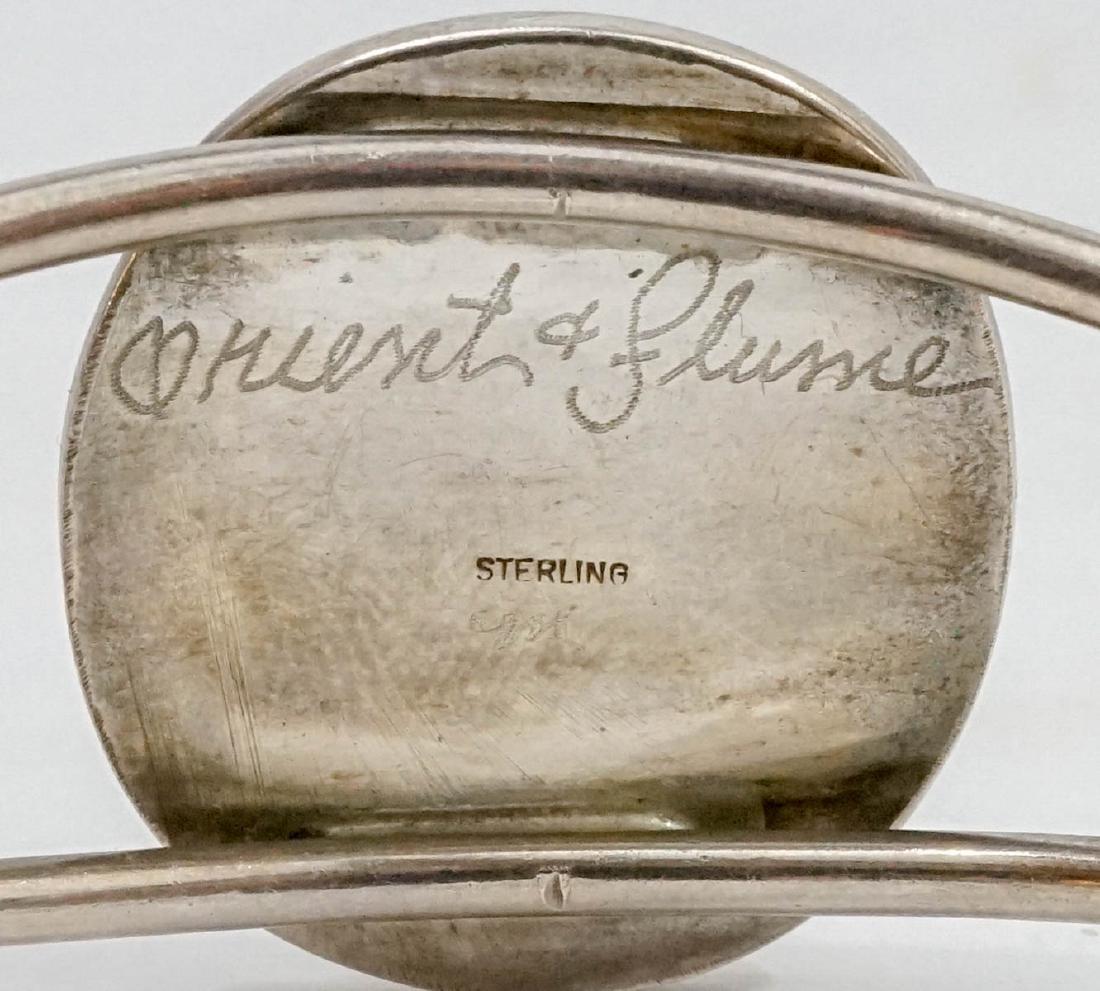 Orient & Flume Art Glass and Sterling Bracelet - 2