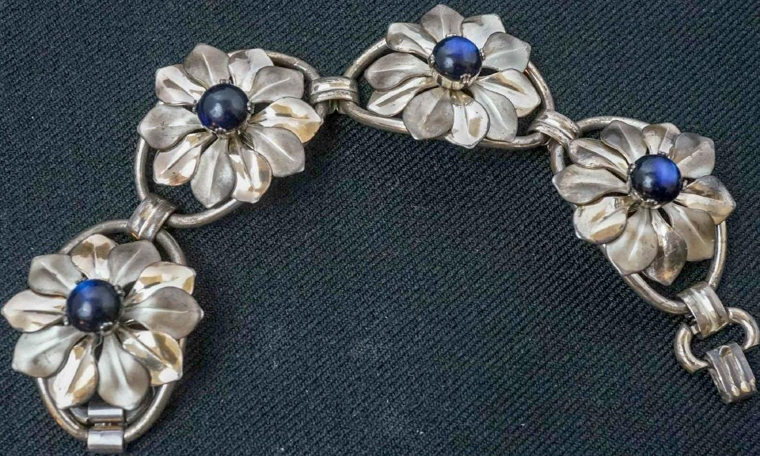A Group of Mid-Century Copper & Enamel Jewelry - 2