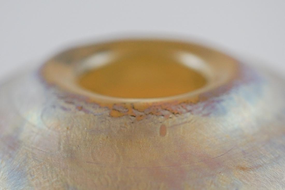 Chris Heilman and Joyce Roessler Art Glass Vase - 4