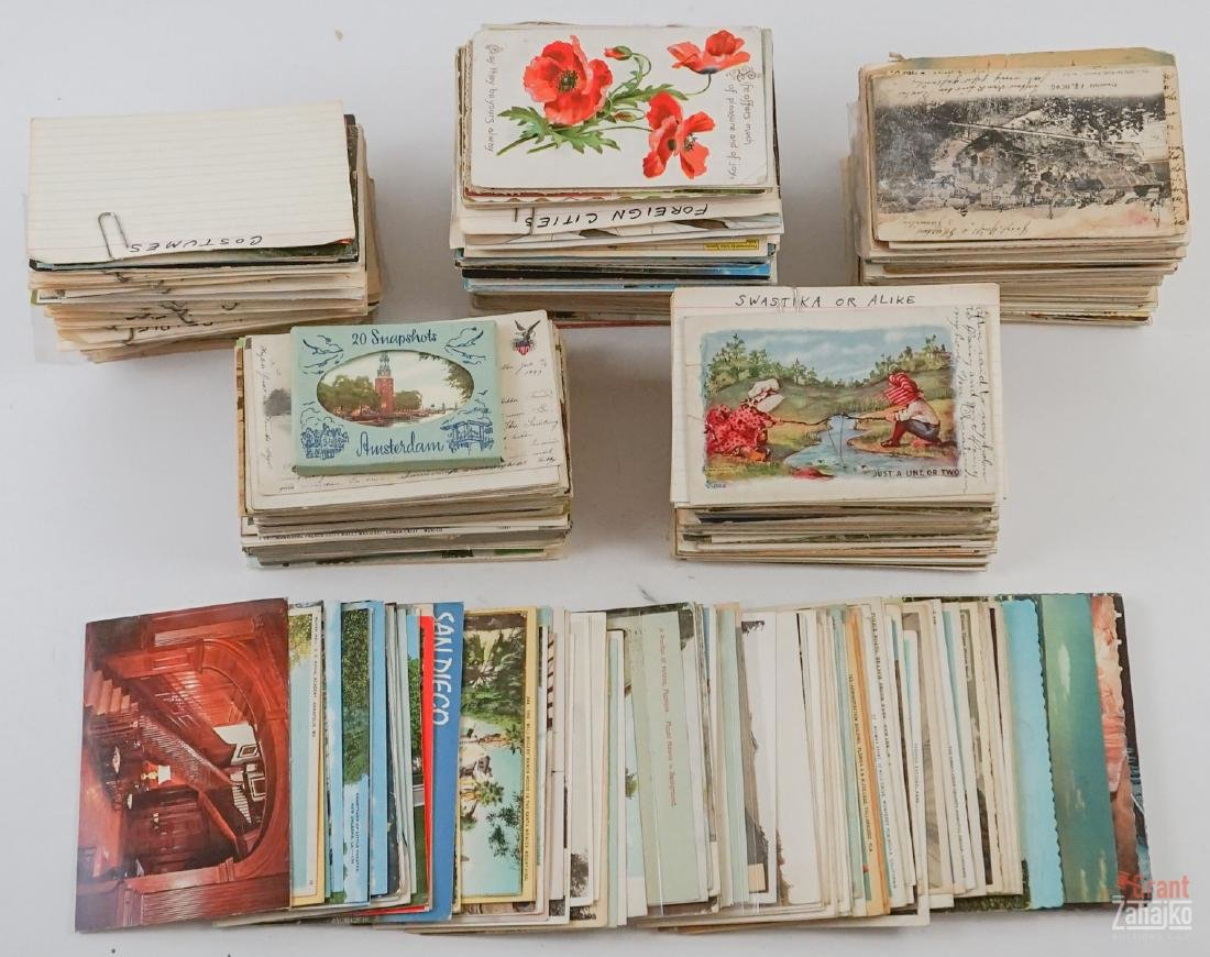 Group of Vintage and Antique Postcards