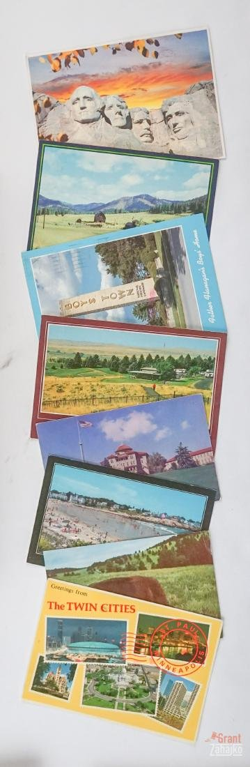Group of Vintage and Antique Postcards - 2