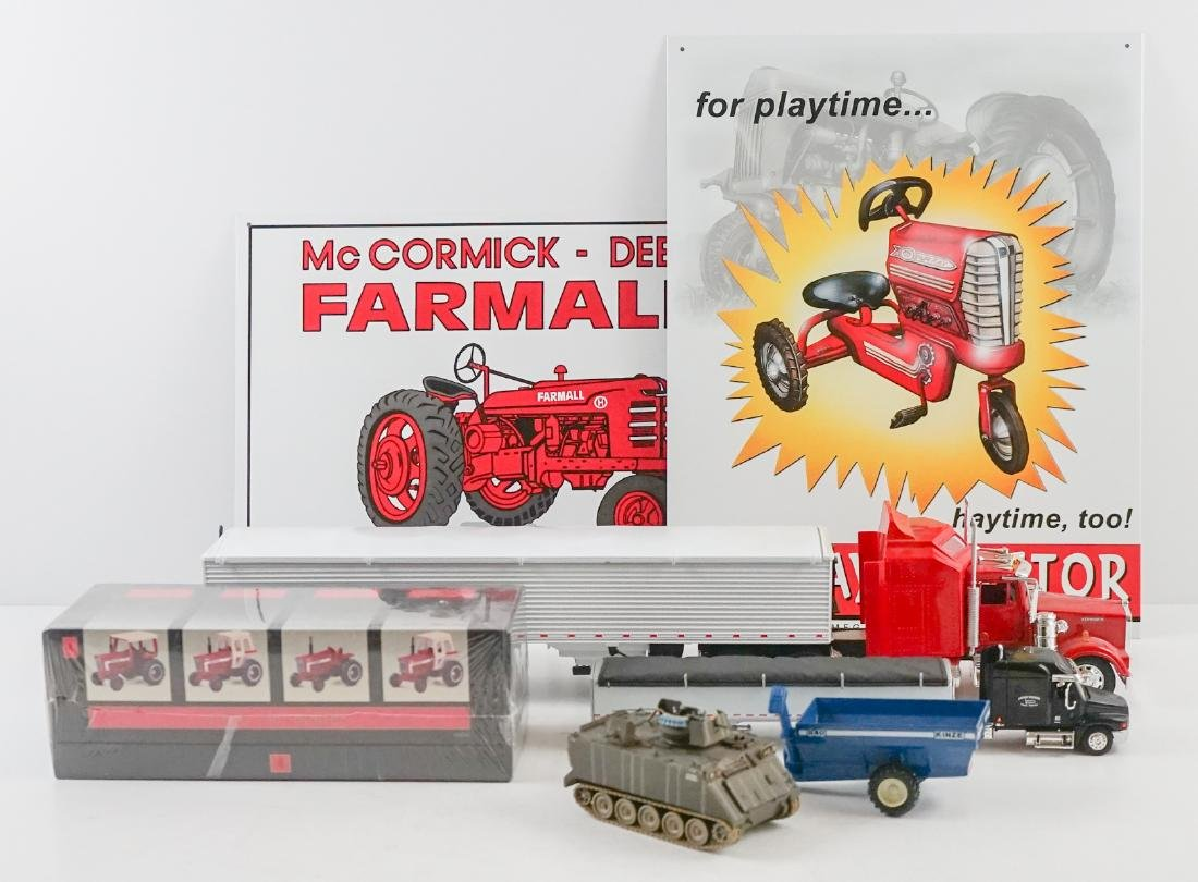 Group of Farm Collectible and Toys