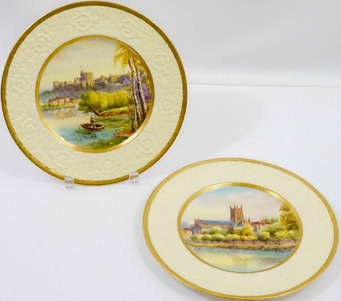 Raymond Rushton for Royal Worcester Plates