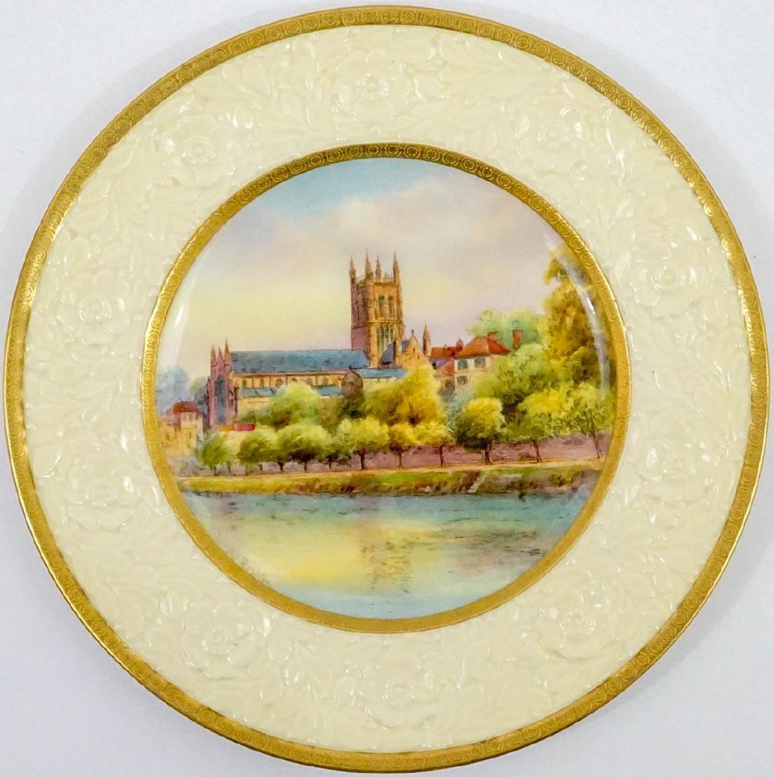 Raymond Rushton for Royal Worcester Plates - 2
