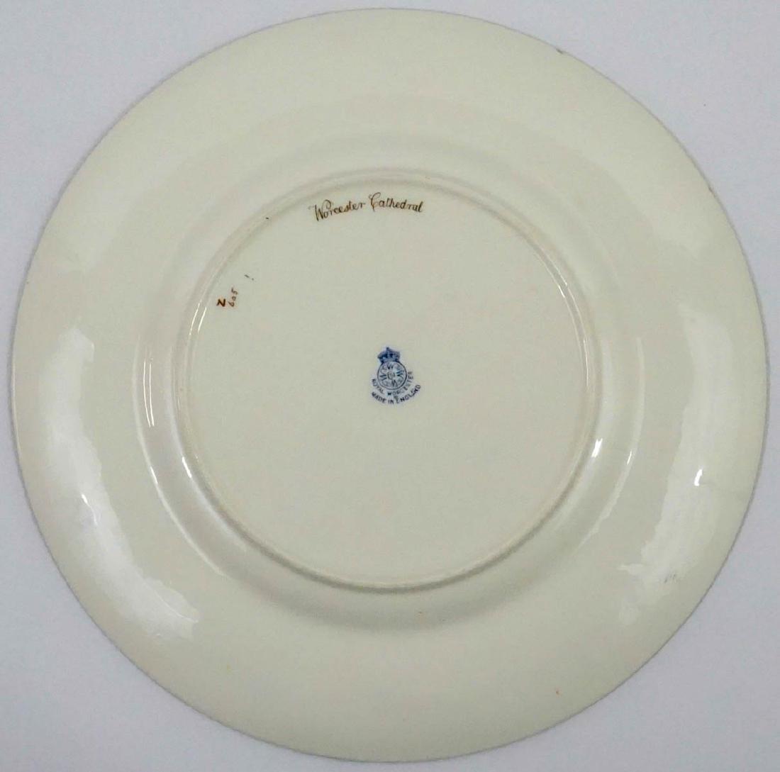 Raymond Rushton for Royal Worcester Plates - 4