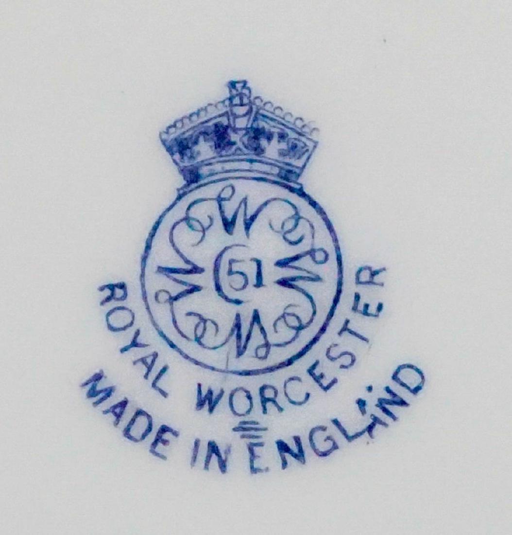 Raymond Rushton for Royal Worcester Plates - 5