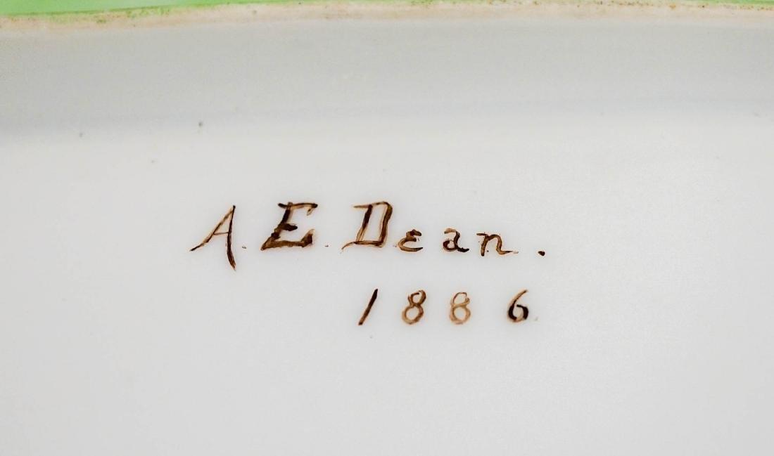 Annie E Dean (1855-1925) Hand Painted Set - 6