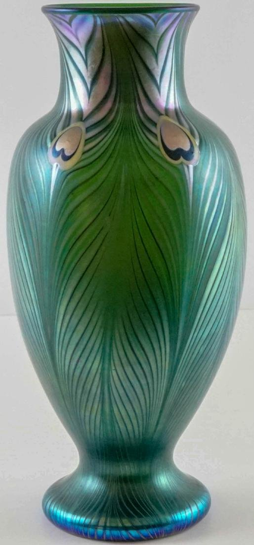 Art Glass Vase with Spurious Signature
