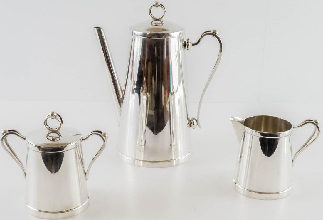 Alfredo Sciarrotta Sterling Coffee Set