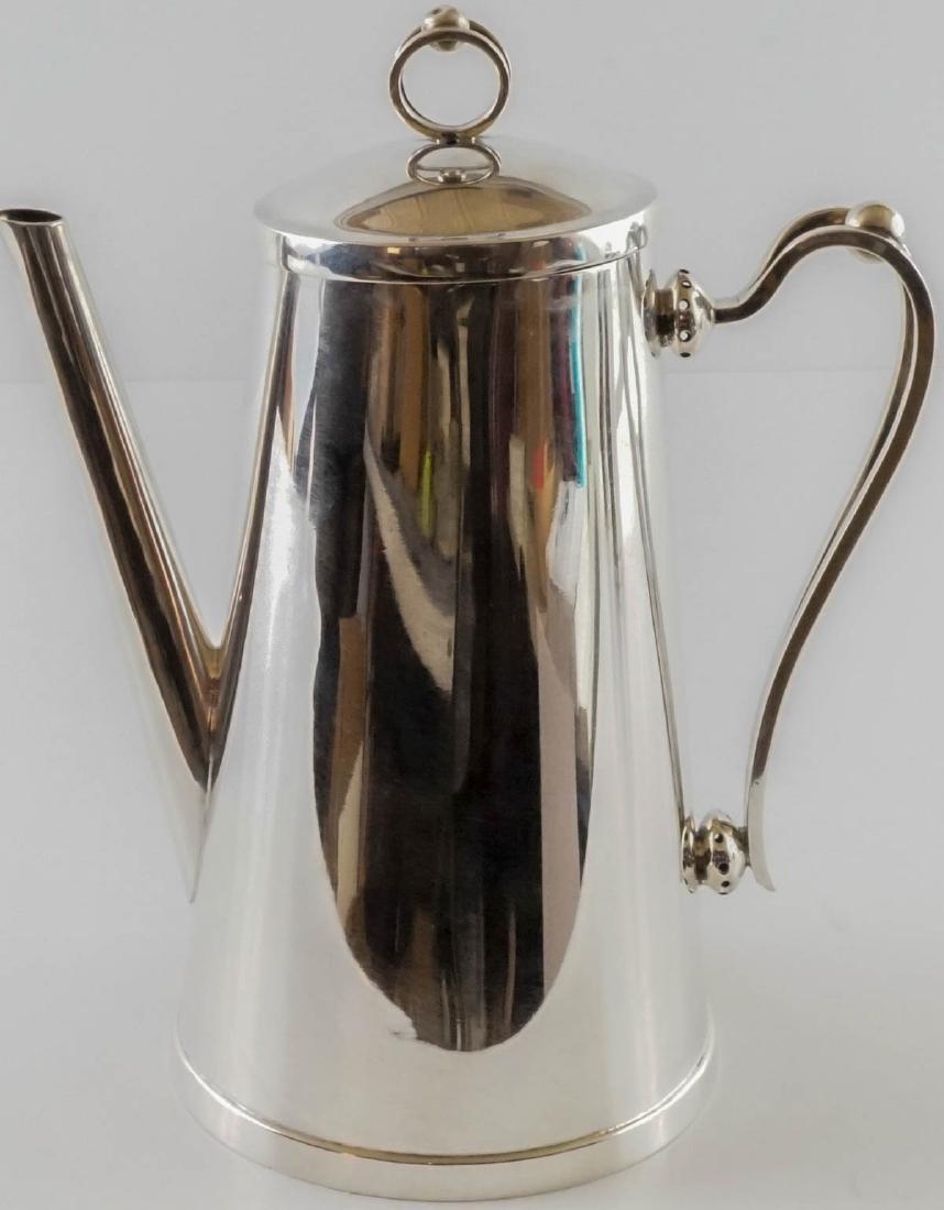 Alfredo Sciarrotta Sterling Coffee Set - 4